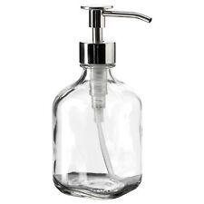 IKEA bestaende savon/détergent verre clair Pompe-Distributeur (320 ml)