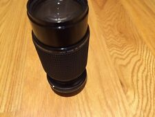 70 - 210 mm F/4.5- 22 Sunwa Multi Coat Made in Japan 52mm Filter size Pentax mt