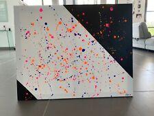 Tableau Moderne Abstrait sur Toile de 92 x 73 cm