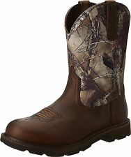 Ariat Men's Groundbreak Camo Composite Toe Work Safety Western Boots 10014246