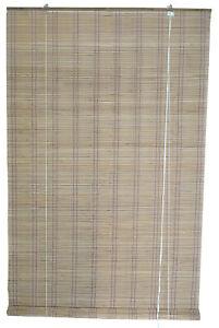 tapparella tapparelle arella tenda tende sole in midollino cm 120x250h beige