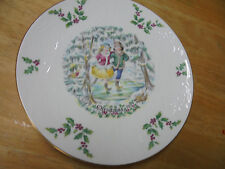 "Royal Doulton ""Christmas 1977"" Commemorative Plate"