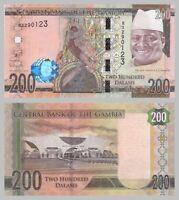 Gambia 200 Dalasis 2015 p36 unz.