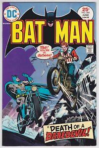 Batman #264 VF+ 8.5 Death Of A Daredevil Ernie Chan Art!