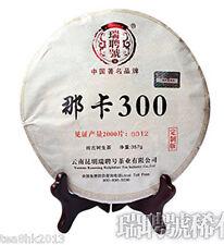 357g cake Yunnan raw puerh tea raw puer tea green tea NaKa 300 Year 2013