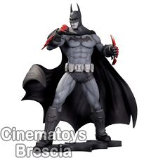 Batman Arkham City Asylum Statue Dc Direct The Dark Knight Black & White Limited