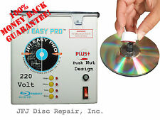 220 Volt JFJ Easy Pro Plus CD/DVD Repair Machine with PUSH NUT