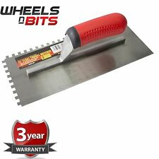 "11"" Float Trowel Notched Builder Brick Cement Plasterer Flooring Adhesives G1611"
