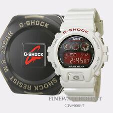 Authentic Casio G-Shock Atomic Solar White Resin Men's Digital Watch GW6900F-7