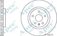 1x OE Quality Replacement Front Axle Apec Vented Brake Disc 5 Stud 337mm - Pair