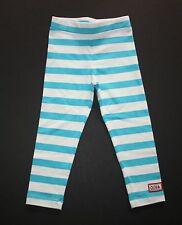 New Gymboree Turquoise Stripe Leggings Legging Size 4 NWT Olivia For Gymboree