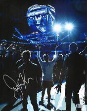 Justine Kish Signed 11x14 Photo BAS Beckett COA UFC Fight Night 112 Autograph 2