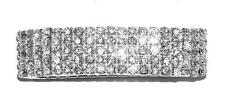 BRACELET ST Stretch 5-Row Brilliant ALL CLEAR RHINESTONES