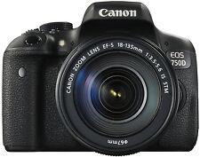Canon EOS 750d + EF-S 18-135/3.5-5.6 IS STM, fotocamera, DSLR Obiettivo rivenditore