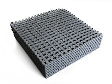 9pack VINTEK Grate Tile Interlocking Vinyl Floor Drain Mat Deck Pool Shower Bath