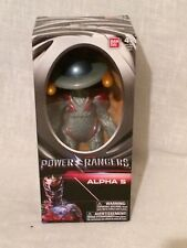 """Power Rangers Alpha 5 Action 200mm 8"""" Toy Doll Figure Bandai Age 4"""