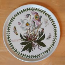 1 Portmeirion Pottery 10.5-inch Dinner Plate, Botanic Garden, Made in England