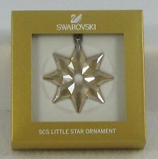 Swarovski 2013 Scs member onlyl Little star ornament First In Series new in box!