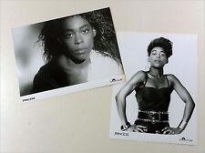 PRINCESS - Lot: 2x ORIGINAL D 1987 POLYDOR Presse Foto Photo Set Card