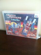 Vintage Transformers G1  Ultra Magnus  3-D Puzzle 1984 Warren Hasbro AFA 85 Wow