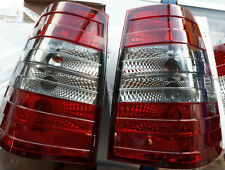 W124 W124T Wagon 5 Door RED SMOKE REAR TAIL LIGHTS taillight SMOKED Back AMG SET