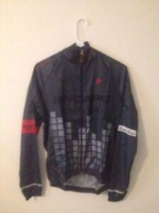 Hincapie Racing Team Official Team Kit Axis Lightweight Jacket Size S New