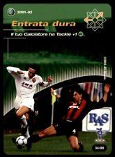 Wizards of the Coast Football Italy (2001-02) Entrata dura - Tactic card No.T34