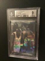 1991-92 Upper Deck Award Winner Holograms #AW1 Michael Jordan BGS 9 Mint 3/9.5's