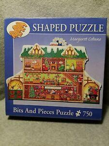Sealed Bits & Pieces Margaret Cobane Santas Workshop Jigsaw Puzzle 750 PC HTF