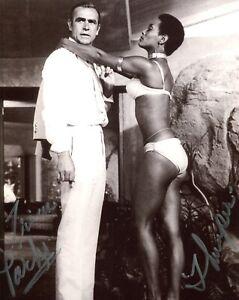 007 Bond girl Trina Parks signed DIAMONDS ARE FOREVER photo No6 - UACC DEALER