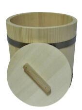 Secchio in legno a botte con tappo 15l LITRO vecchio stile Sauna crauti storeage