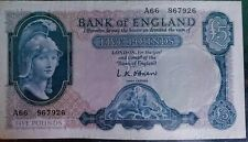 More details for l.k.o'brien old £5 note in great condition.