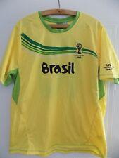 Brazil BRASIL Football Shirt FIFA Official World Cup 2014 RARE XL Soccer