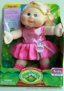 Elisha Meredith April 2 Cabbage Patch Doll 35 cms + Birth Cert Adoption Paper
