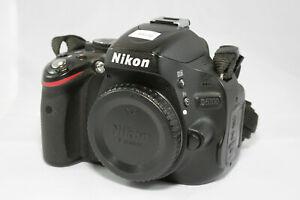 Nikon D5100 16.2MP Digital SLR Camera - Black (Body Only) Low Shutter Count