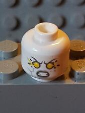 Lego Nexo Knights  Kopf / Head White Stone Statue Plain Neu 70357