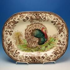 Clarice Cliff Royal Staffordshire - Thanksgiving Turkey Serving Platter - 18x14¼