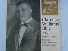 """Clarence Williams' Blue Five - vol 2 - SWAGGIE JAZZ 33rpm 7"""" EP"""