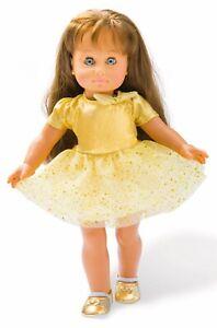 """Puppenkleidung 43 cm Puppen-Kleid """"Sterntaler"""", Gr. 35-45 cm"""