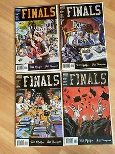 Finals 1-4 (4 Books) Comic Book - B53-21