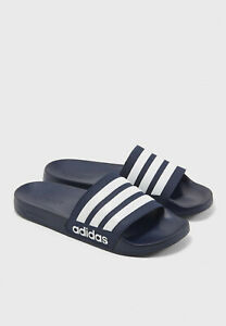 Mens Adidas Adilette Comfort Slides Sport Athletic Sandals NEW