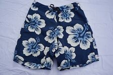Patagonia Casual Swim, Board Shorts with Zip Pocket. Blue Floral, Men's 34. GUC!