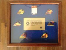 1984 Sarajevo Winter Olympics KODAK SPONSOR framed pin set