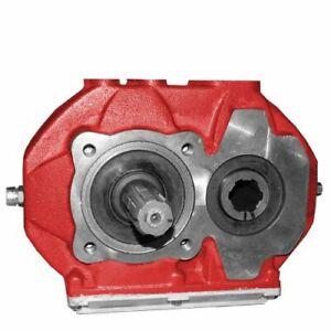 Umkehrgetriebe mit Zapfwellenmuffe 1:2 Übersetzergetriebe