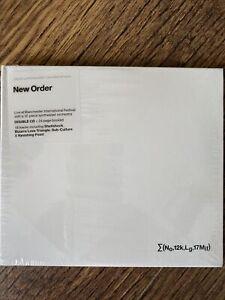 New Order - ¿(No,12k,Lg,17Mif) + So it goes..NEW 2 x CD Live Double Album 2019