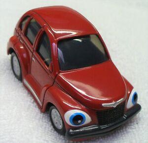 """ERTL Preschool Little Muscle-1/43 Diecast Red '01 Chrysler PT Cruiser """"Paula""""-Ch"""