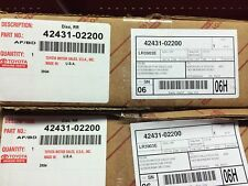 TOYOTA OEM 09-10 Corolla Rear Brake-Rotor 4243102200  (each sold separately)