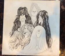 "Aerosmith ""DRAW THE LINE"" 1977 First Press. No Bar Code"