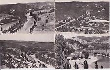 Lot 4 cartes postales anciennes VALLEE DE LA DORDOGNE