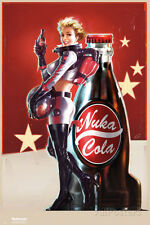 Fallout 4- Nuka Cola Pin Up Poster Print, 24x36